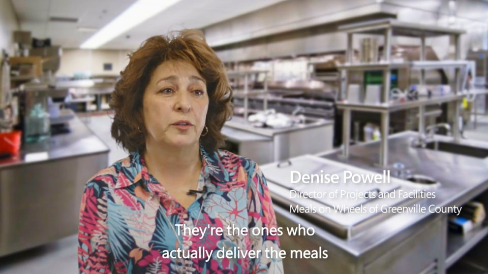Customer story: Meals on Wheels