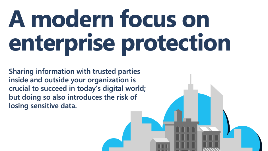 A modern focus on enterprise protection