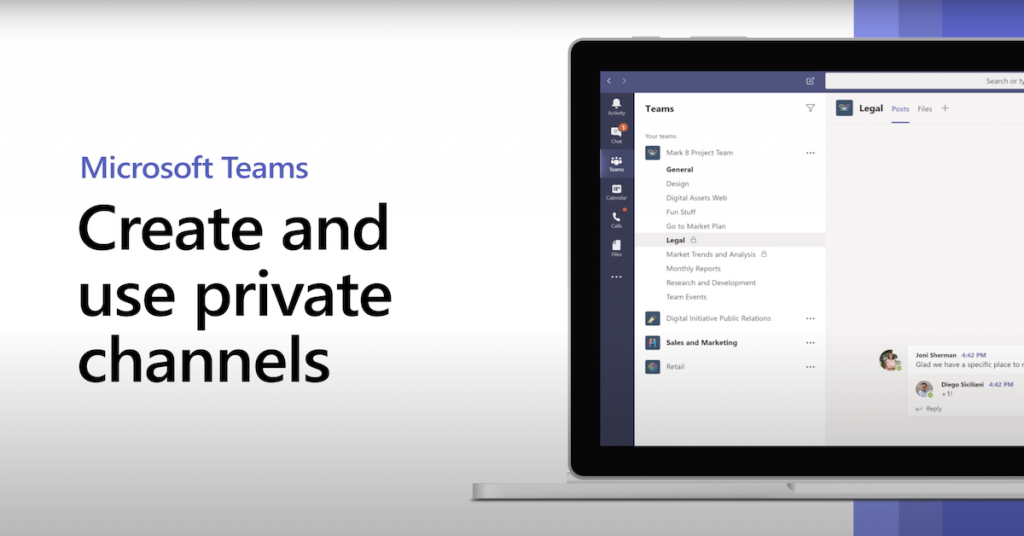 How to create and use private channels in Microsoft Teams
