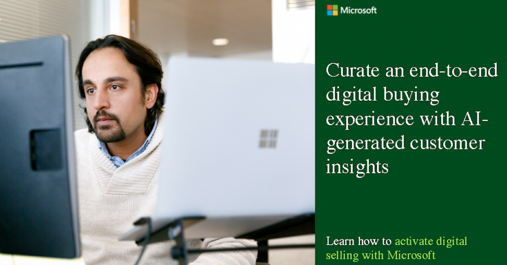 Curate an end-to-end digital buying experience with AI-generated customer insights