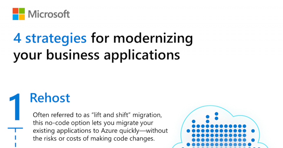 4 strategies for modernizing your business applications