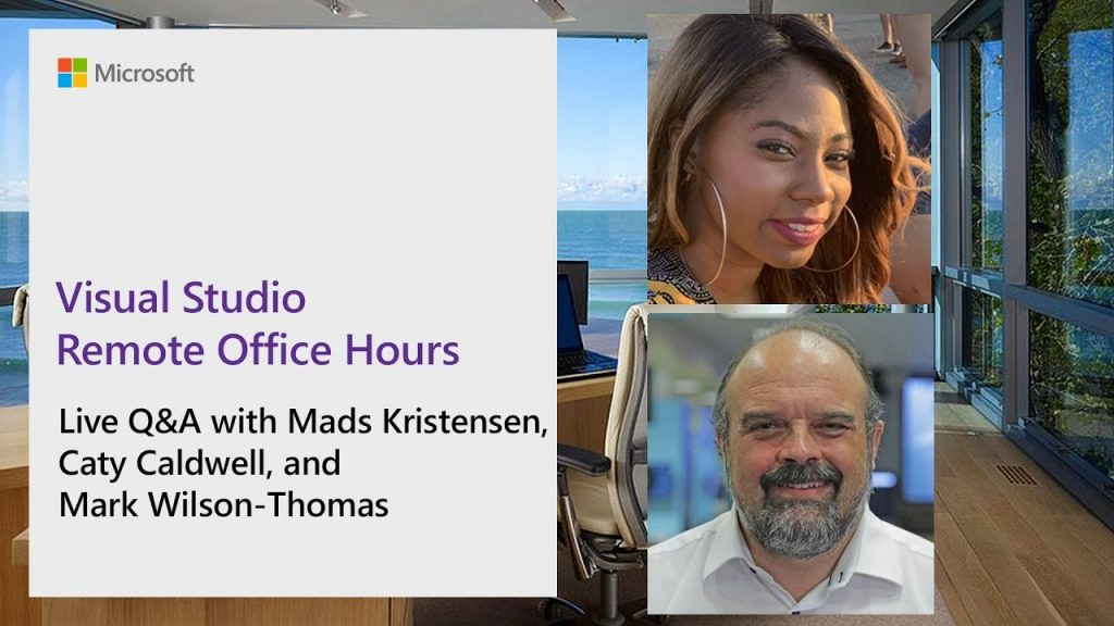 Learn with Visual Studio Remote Office Hours