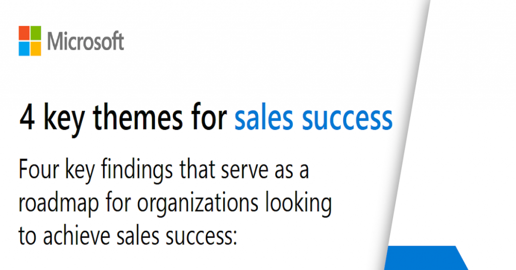 Themes for sales success