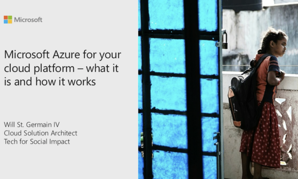 Microsoft Azure for your cloud platform – what it is and how it works