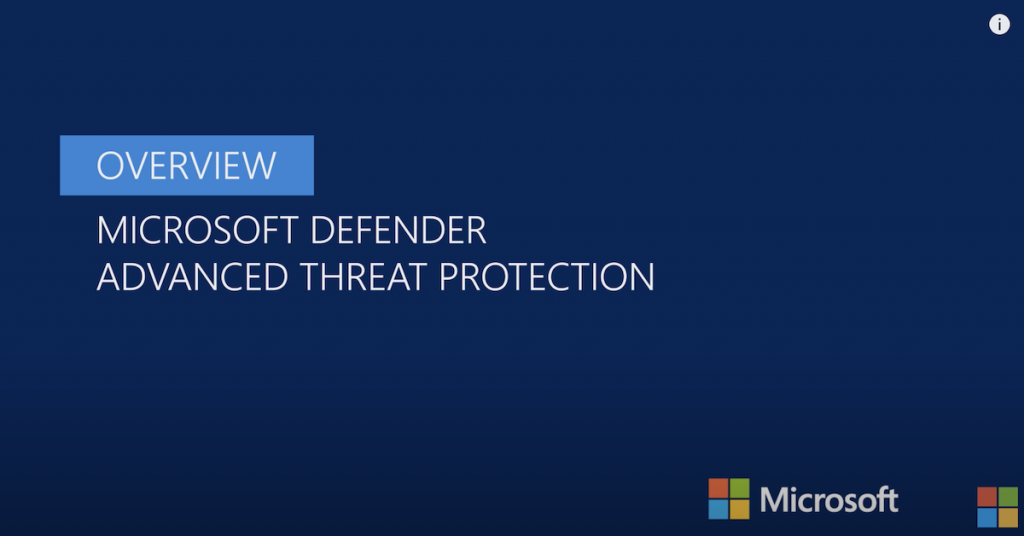 Overview of Microsoft Defender ATP