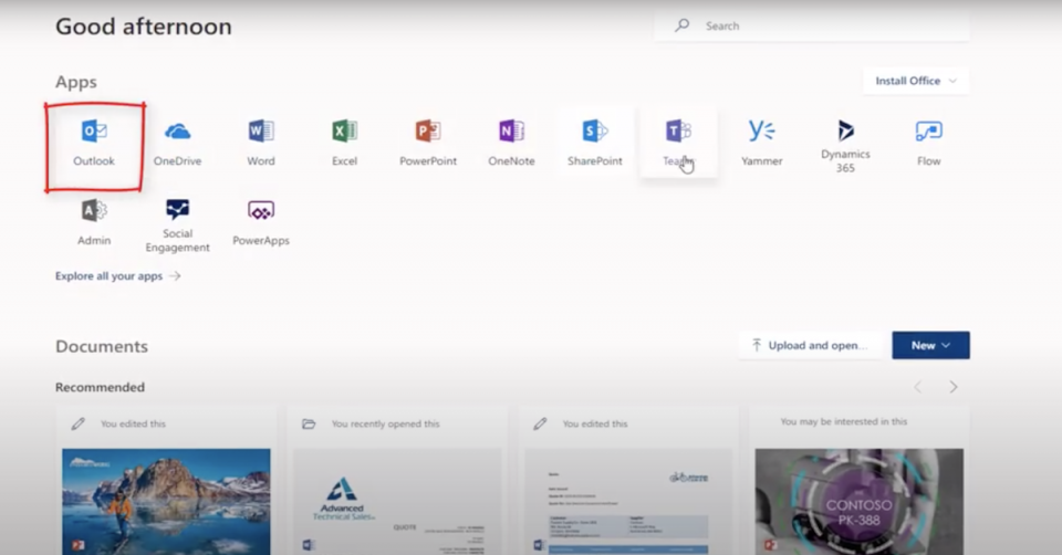 Office 365 and Dynamics Relationship Analytics for Sales