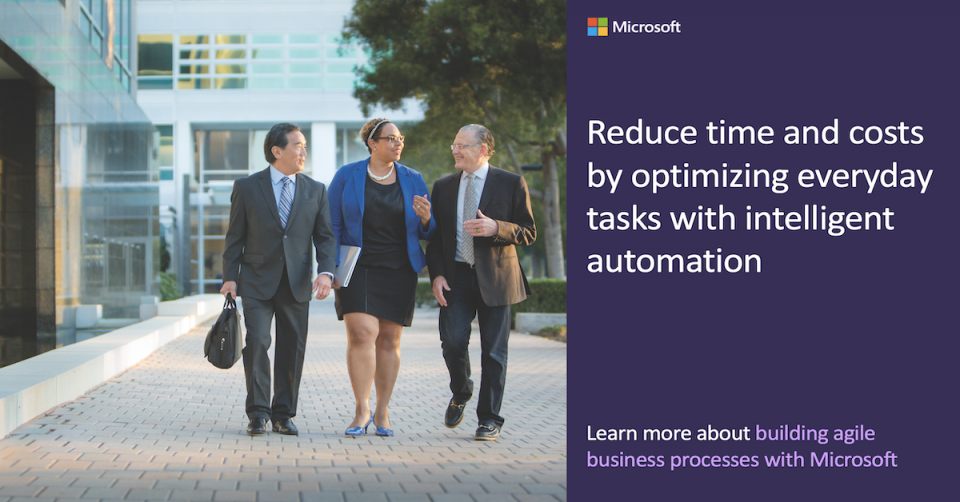 Reduce time and costs by optimizing everyday tasks with intelligent automation