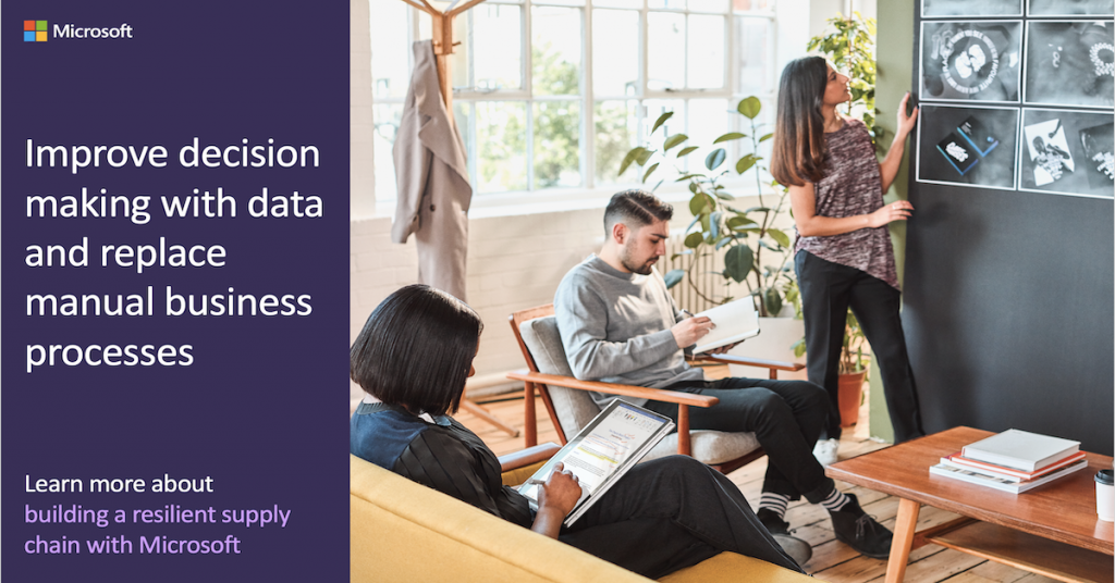 Improve decision making with data and replace manual business processes