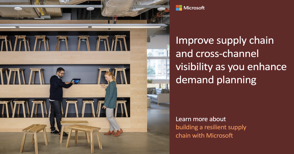 Improve supply chain and cross-channel visibility as you enhance demand planning